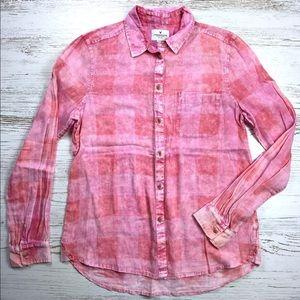 AMERICAN EAGLE | Summer Flannel Shirt S Plaid